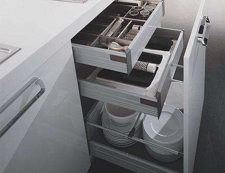 Lineadecor  Base unit with Tandembox inner drawers