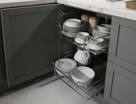 Lineadecor  Base unit with wire basket