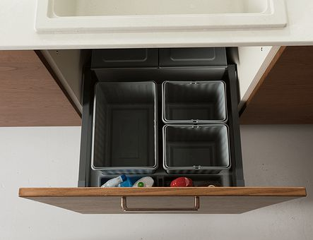 Lineadecor  Sink unit with Antaro pull-out