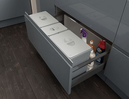 Lineadecor  Sink unit with Antaro 2 deep drawers
