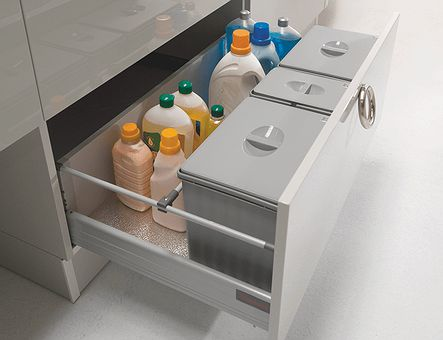 Lineadecor  Sink unit with Tandembox 2 deep drawers