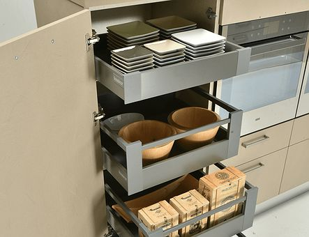 Lineadecor  Medium tall unit with Antaro inner drawers