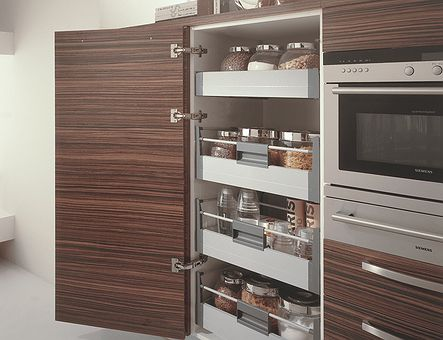 Lineadecor  Medium tall unit with Tandembox inner drawers