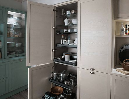 Lineadecor  Tall unit with Comfort inner drawers
