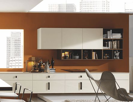 Lineadecor  Wall unit with push-pull opening