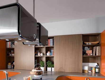 Lineadecor  Wall unit with sliding door
